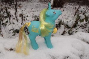 Im Winter lässt es Fox auch mal etwas ruhiger angehen. Statt zu tanzen macht sie auch mal lange Spaziergänge. Aber nur, wenn es geschneit hat.